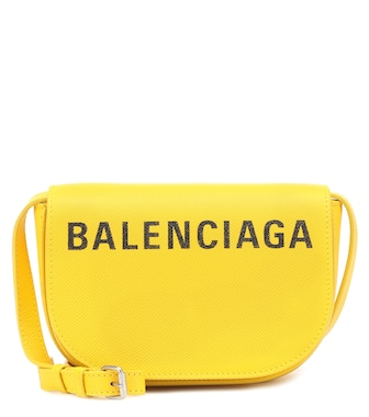 Balenciaga - Ville Day XS leather shoulder bag - mytheresa.com