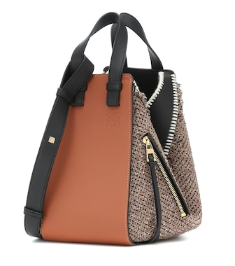 Loewe - Hammock Small tweed shoulder bag - mytheresa.com