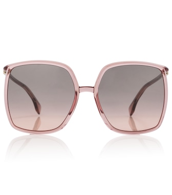 Fendi - Oversized acetate sunglasses - mytheresa.com