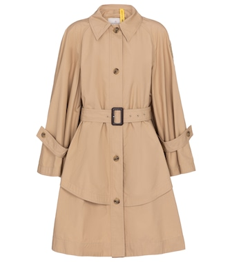 Moncler Genius - 1 MONCLER JW ANDERSON cotton trench coat - mytheresa.com