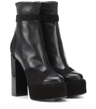 Pierre Hardy - Scarlett leather ankle boots - mytheresa.com