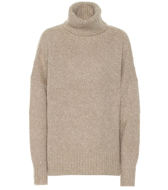 Isabel Marant, Étoile - Shadow alpaca-blend sweater - mytheresa.com