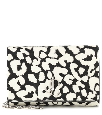 Jimmy Choo - Varenne printed calf-hair clutch - mytheresa.com