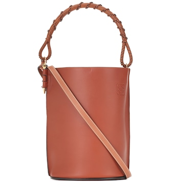 Loewe - Gate leather bucket bag - mytheresa.com