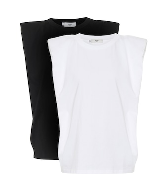 Frankie Shop - Eva set of 2 cotton tank tops - mytheresa.com
