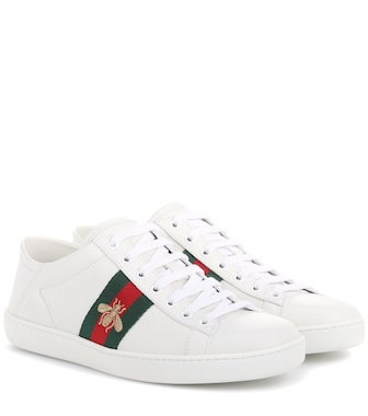 Gucci - Ace leather sneakers - mytheresa.com