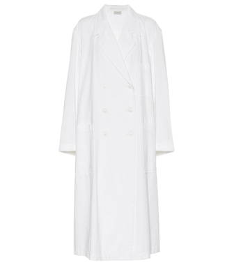 Dries Van Noten - Cotton twill trench coat - mytheresa.com