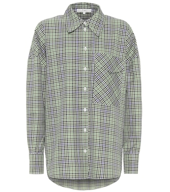 Tibi - Utility checked shirt - mytheresa.com