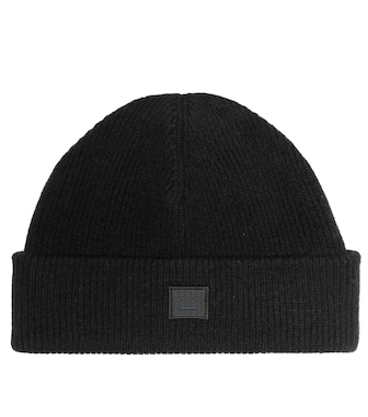 Acne Studios - Face wool-blend beanie - mytheresa.com