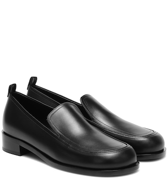 The Row - Leather loafers - mytheresa.com