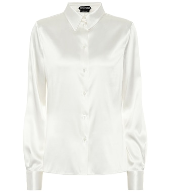 Tom Ford - Stretch silk satin shirt - mytheresa.com