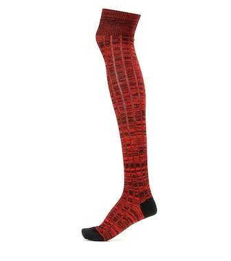 Miu Miu - Knitted wool knee socks - mytheresa.com