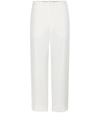 Chloé - Cuffed straight-leg trousers - mytheresa.com