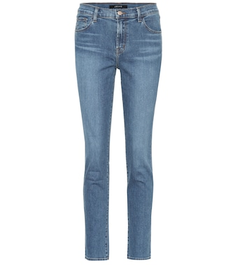 J Brand - Ruby cropped high-rise jeans - mytheresa.com