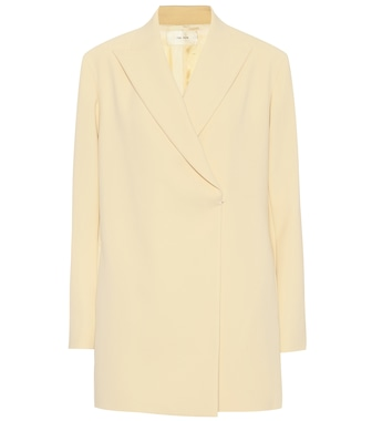 The Row - Malone stretch-cady jacket - mytheresa.com