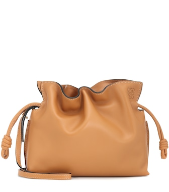 Loewe - Flamenco Mini leather clutch - mytheresa.com