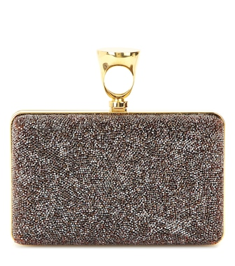 Tom Ford - Micro Rock embellished box clutch - mytheresa.com
