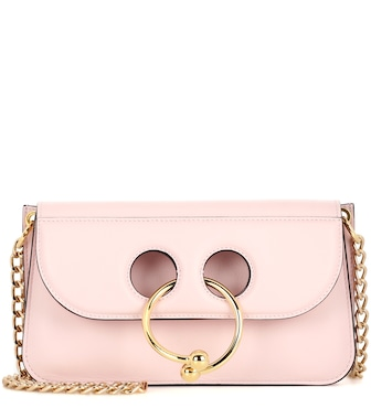 JW Anderson - Small Pierce leather shoulder bag - mytheresa.com