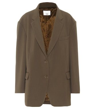 Frankie Shop - Bea single-breasted twill blazer - mytheresa.com