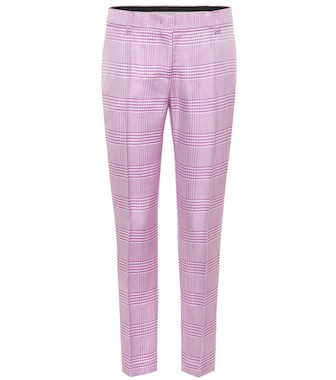 Emilio Pucci - Houndstooth straight-leg pants - mytheresa.com