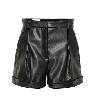 Stella McCartney - Danielle faux leather shorts - mytheresa.com