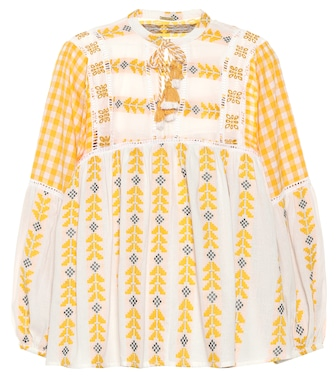 Dodo Bar Or - Embroidered cotton shirt - mytheresa.com