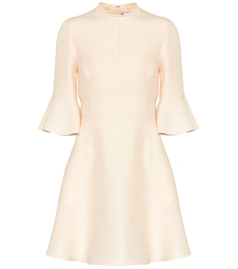 Valentino - Wool and silk dress - mytheresa.com