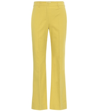 S Max Mara - Tebano stretch-cotton pants - mytheresa.com