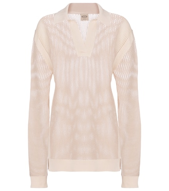 Tod's - Open-knit cotton sweater - mytheresa.com