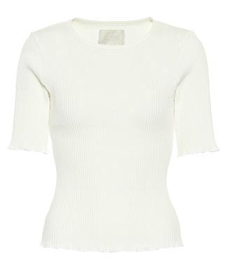 Citizens of Humanity - Annie ribbed cotton T-shirt - mytheresa.com