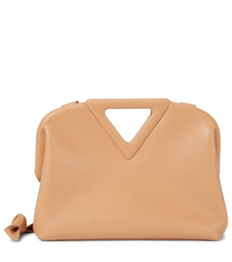 Bottega Veneta - The Triangle leather shoulder bag - mytheresa.com