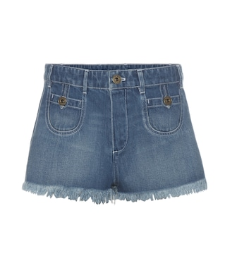 Chloé - Denim shorts - mytheresa.com