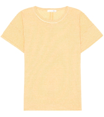 Rag & Bone - Striped linen-blend T-shirt - mytheresa.com