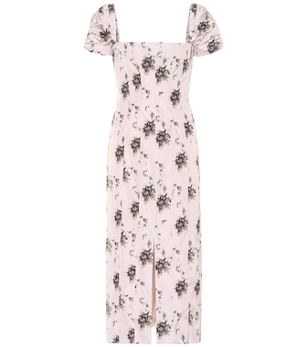 Brock Collection - Floral midi dress - mytheresa.com