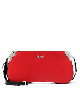 Prada - Sidonie leather shoulder bag - mytheresa.com