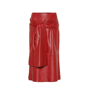 Joseph - Renne leather midi skirt - mytheresa.com