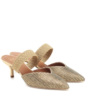 Malone Souliers - Maisie woven mules - mytheresa.com