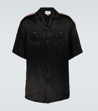 Gucci - Short-sleeved acetate shirt - mytheresa.com