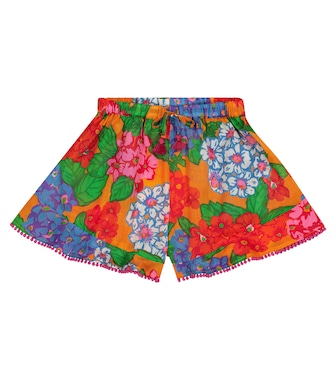 Zimmermann Kids - Exclusive to Mytheresa – Riders cotton shorts - mytheresa.com