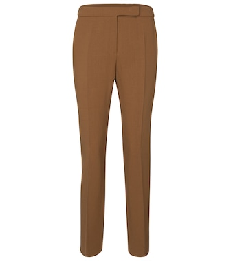Max Mara - Micenea slim stretch-wool pants - mytheresa.com