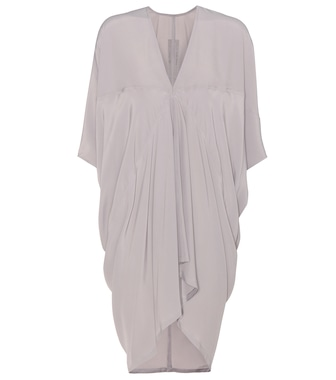 Rick Owens - Crêpe dress - mytheresa.com