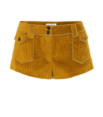 Saint Laurent - Corduroy shorts - mytheresa.com