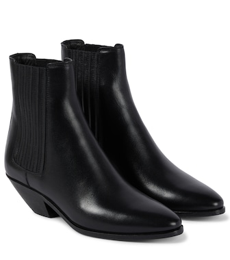 Saint Laurent - West 45 leather Chelsea boots - mytheresa.com