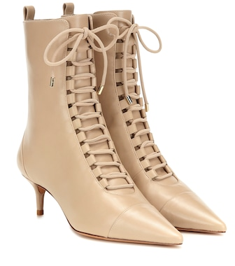 Alexandre Birman - Millen leather ankle boots - mytheresa.com