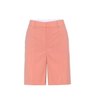 Stella McCartney - Shorts Amber in lana - mytheresa.com