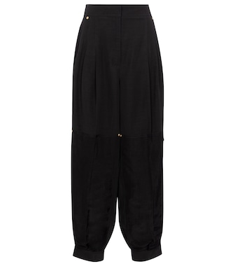 LOEWE - High-rise wide pants - mytheresa.com