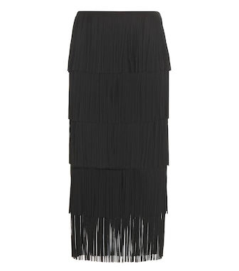 Tom Ford - Fringed midi skirt - mytheresa.com