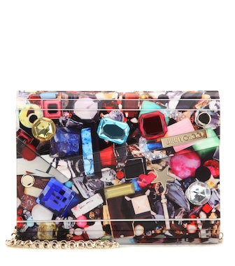 Jimmy Choo - Candy embellished box clutch - mytheresa.com