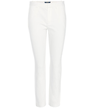 Polo Ralph Lauren - Cropped cotton-blend trousers - mytheresa.com