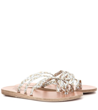 Ancient Greek Sandals - Amalia braided leather sandals - mytheresa.com